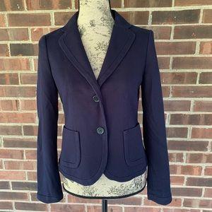 Banana Republic navy blue blazer jacket